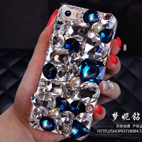 Rhinestone Case Cover For Apple IPhone 6 6 Plus 5 5S 5C 4 4S Luxury Diamond