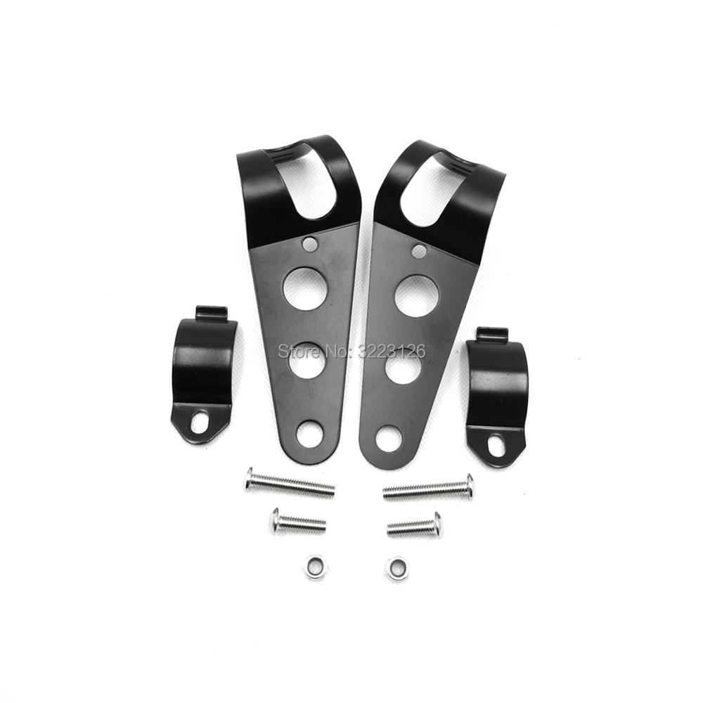 35 43mm Motorbike Headlight Mounting Bracket HeadLamp