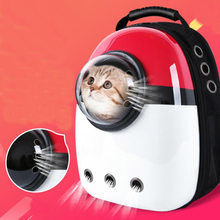 Hot Space Capsule Astronaut Backpack Bubble Window for Puppy Chihuahua Small Dog Carrier Crate Outdoor Travel Bag Cave 101500E(China)