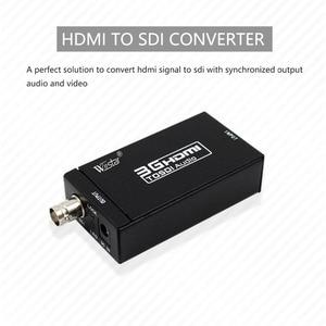 Image 2 - Wiistar HDMI إلى SDI محول الفيديو BNC SDI/HD SDI/3G SDI داعم محول 1080P للكاميرا المسرح المنزلي