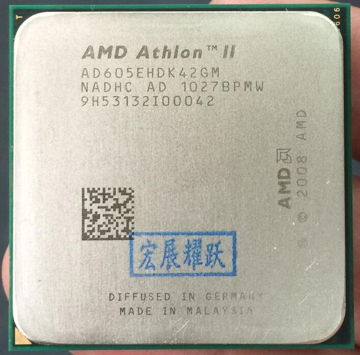 AMD Athlon II X4 605E  X605E  Quad-Core AM3 938 CPU 100% Working Properly Desktop Processor