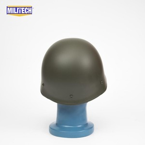 Image 4 - Militech Oliver Drab OD Green French F1 Model 1978 Version Steel Paratrooper High Quality Repro Collection Helmet