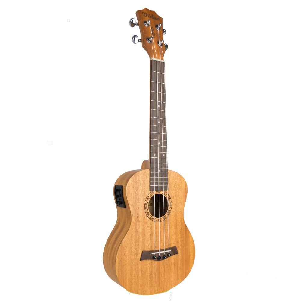Acoustic Electric Soprano Concert Tenor Ukulele 21 23 26 Inch Mini Guitar Mahogany 4 Strings Ukelele Guitarra Uke Mahogany