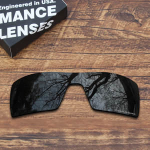 ef6889cb0a ToughAsNails Resist Seawater Corrosion ToughAsNails Resist Seawater  Corrosion Polarized Replacement Lenses for Oakley Oil Rig Sunglasses Black  Color (Lens ...