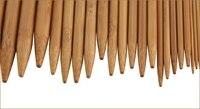 75pcs 15Sizes 20cm Bamboo Knitting Needles Crochet Hooks 8 Double Pointed Carbonized Bamboo Needles Sweater Weave Craft