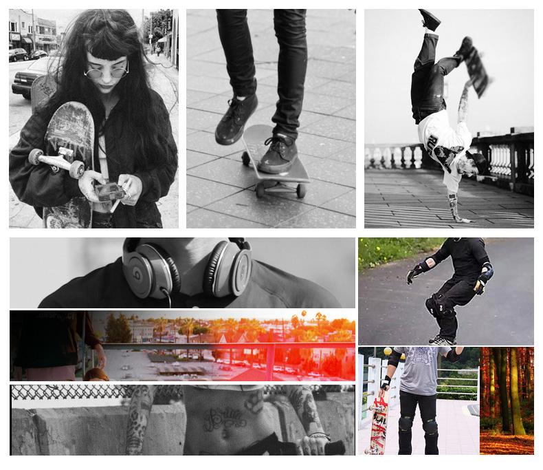 korting Verzending Gratis skateboard 5