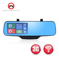 3G WIFI Smart Car Camera DVR GPS Tracker JC900 Full HD 1080P Live View Touch Screen Bracket Rearview Mirror Bluetooth