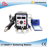On Sale Cheapest UIpgraded 700W Version Led 2 In 1 Solder Station With Auto Sleep Function