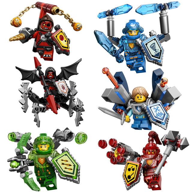 Nexo Knights Character Set (6)
