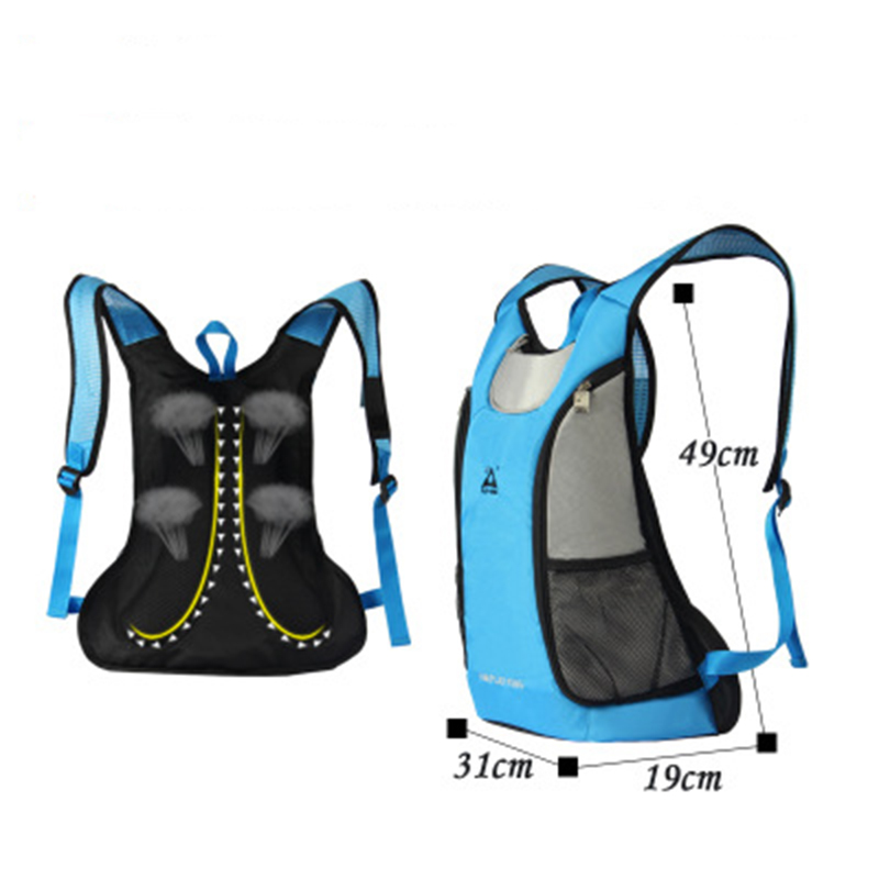 backpack for men and woman Factory direct outdoor bag sports cycling bag mountain biking backpack sports equipment backpack ocallion ultralight mountain bike backpack race cycling backpacks rucksack outdoor sports bag for running biking climbing 15l