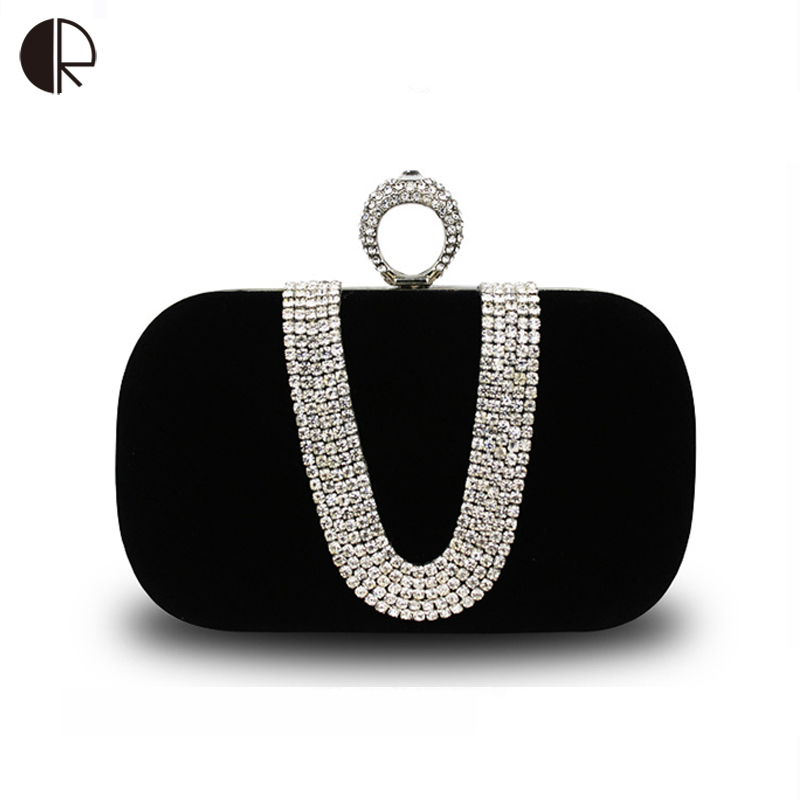 KüHn 2018 Frauen Diamanten Clutchs Knucklebox Prinzessin Abendtaschen Frauen Umhängetasche Weiblichen Mini Handtasche Europäischen Stil