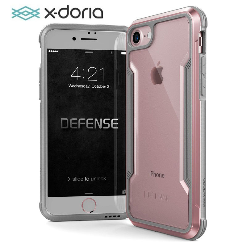 X-Doria Defense Shield Phone Case For IPhone 7 8 Plus Military Grade Drop Tested Anodized Aluminum Case Cover For IPhone 7 8