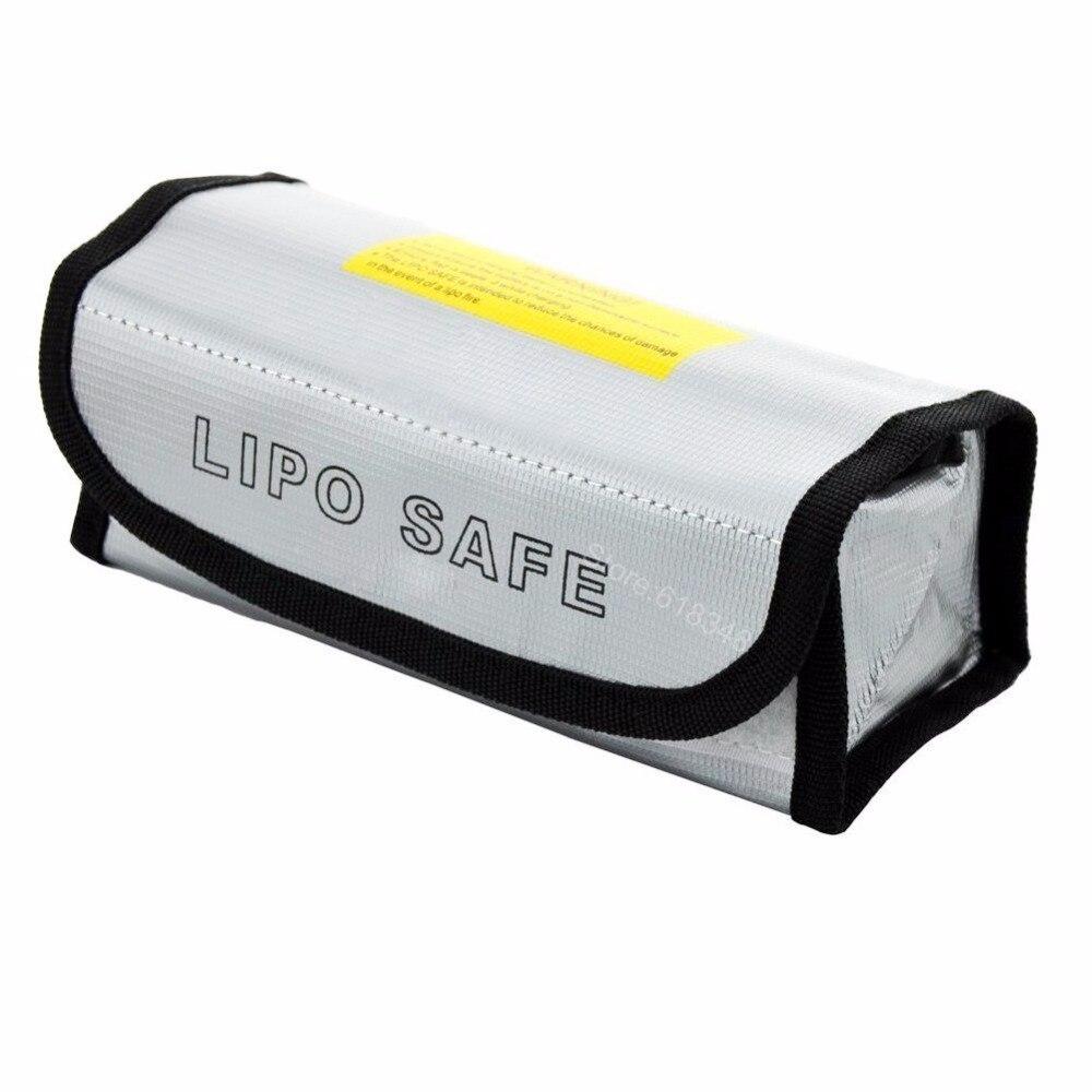 где купить Fireproof Explosionproof RC Lipo Battery Safe Bag Guard Sack For Charge & Storage 185x75x60mm Large size по лучшей цене