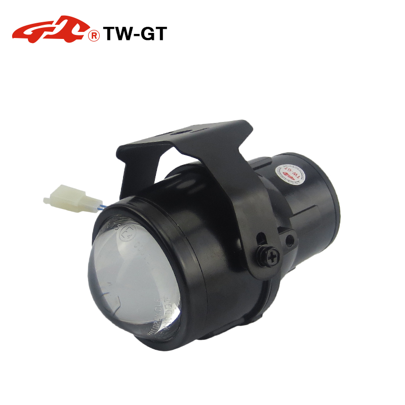 TW-GT Universal 2.5 Inch hid bi xenon fog lamp projector lens foglight H11 Car Motorcycle high low beam headlamp spot light new m803 2 5 car motorcycle universal headlights hid bi xenon projector kit and m803 hid projector lens for free shipping