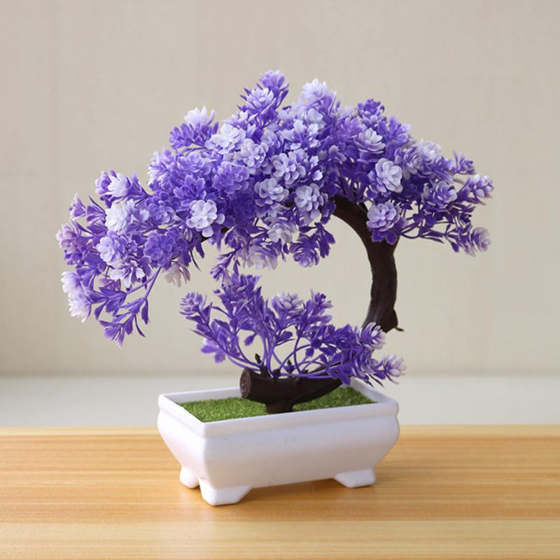 Artificial Plants Bonsai Small Tree Pot Plants Fake Flowers Potted Ornaments For Home Decoration Hotel Garden Decor Buy At The Price Of 2 63 In Aliexpress Com Imall Com