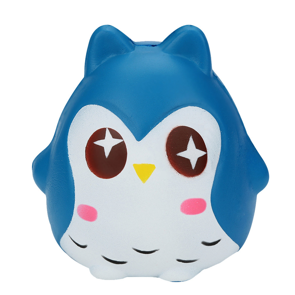 Squeeze Jumbo Stress Reliever Soft Owl Doll Scented Slow Rising Toys Boy Girl Kids Fun Novelty Toy Gift Anti-stress Adult