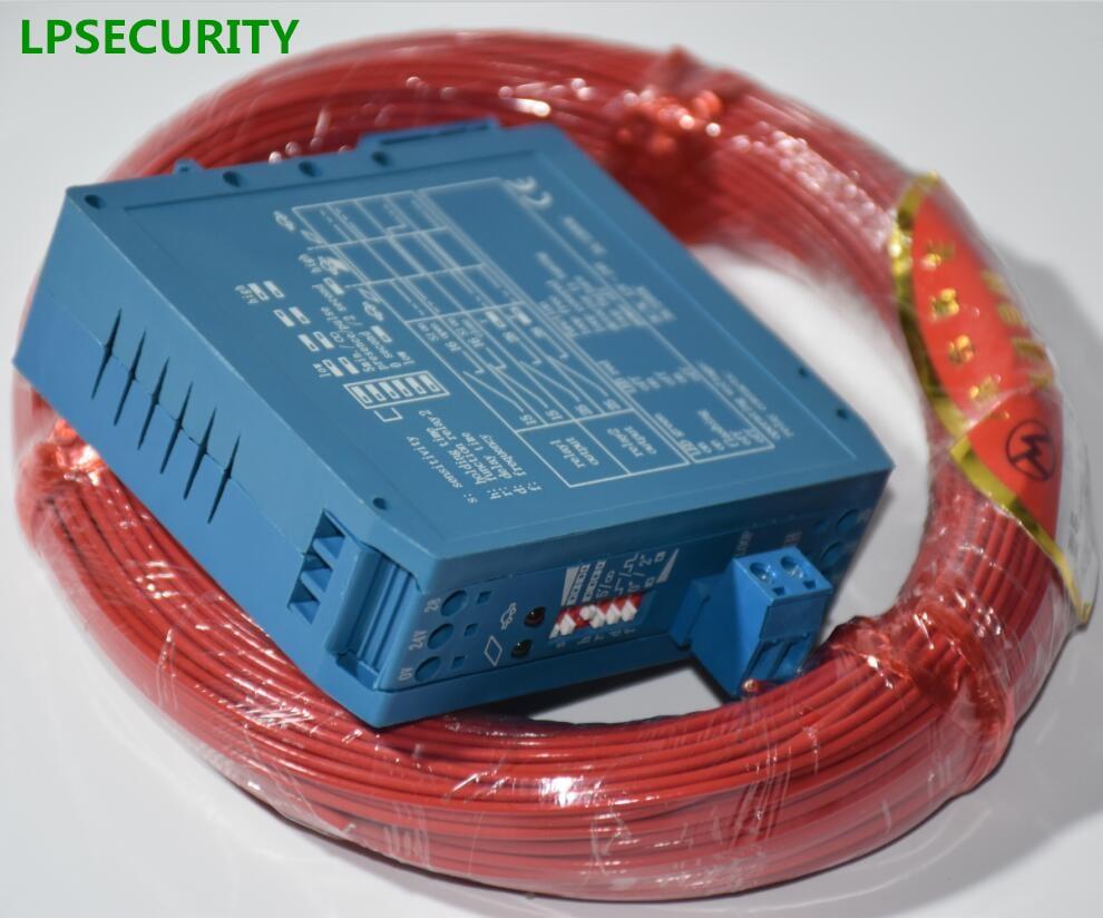 LPSECURITY 50m Cable 12V 24V DC Inductive Vehicle Loop Detector Sensors For Liftmaster PPA ROSSI JSST FUJICA Barrier Gate Opener