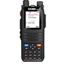 Color Display Walkie Talkie Radio Comunicador Professional Transceiver 5W CP UV2000 VHF/UHF Tri Band 136 174/200 260/400 520 MHz