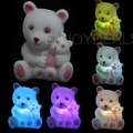 New style Cute Changeable Color LED Night-Light Lamp 7 Colors Changing Nightlight top quality