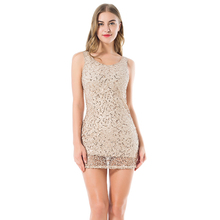 drop shipping stretchable women gold summer dress sexy V-neck femme sundress Luxury party club wear mini sequined casual dresses