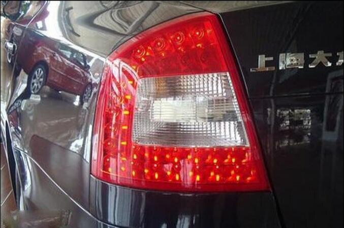 2004~2012year,Octavia Tail light,led,Free ship!2pcs,Octavia fog light;car-covers,Octavia tail lamp,Chrome;Yeti,Octavia octavia