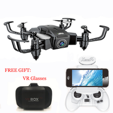 New Arrival XY019HW 2.4G 6-Axis Mini Foldable Drone With 480P/ 720P FPV HD Camera RC Quadcopter Altitude Hold Helicopter