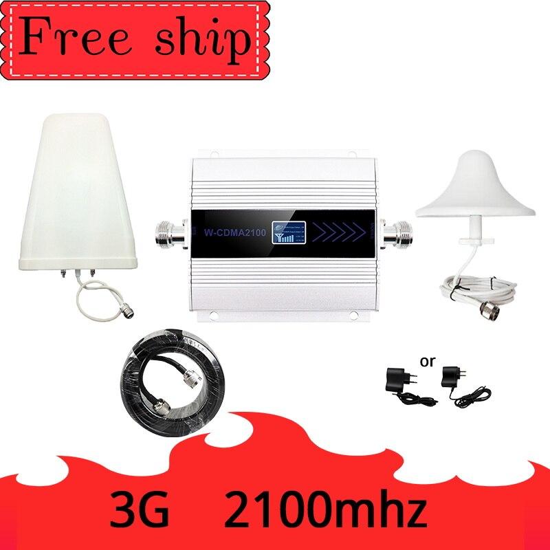 Nouveau PCB 3G Ripetitore 2100MHz répéteur LCD WCDMA 2100 MHZ amplificateur de Signal/amplificateur de Signal Mobile amplificateur de téléphone portable
