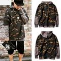 2016 New Design Kanye West Camouflage Hoodies Men And Women Hip Hop Sweatshirt Streetwear Brand Clothing Plus Size For 100kg Men