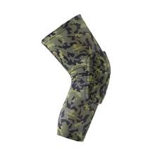 все цены на Camouflage Professional Sports Safety Breathable Honeycomb Climb Outdoor Sport Knee Brace Guard Kneepad Sleeve Cap Patella Guard онлайн