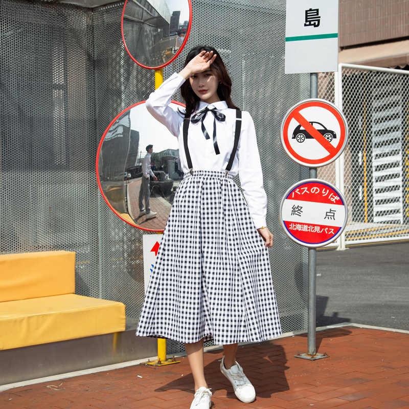 W szkole średniej klasy kończącej naukę letnie jednolite garnitur uczeń koreański wersja gimnazjum dziewczyna chłopiec w stylu College modny zestaw H2443