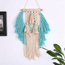 2019 Bohemian hand-woven tassel tapestry  Handwoven Cotton Thread Craft Unique Home Decoration Supplies