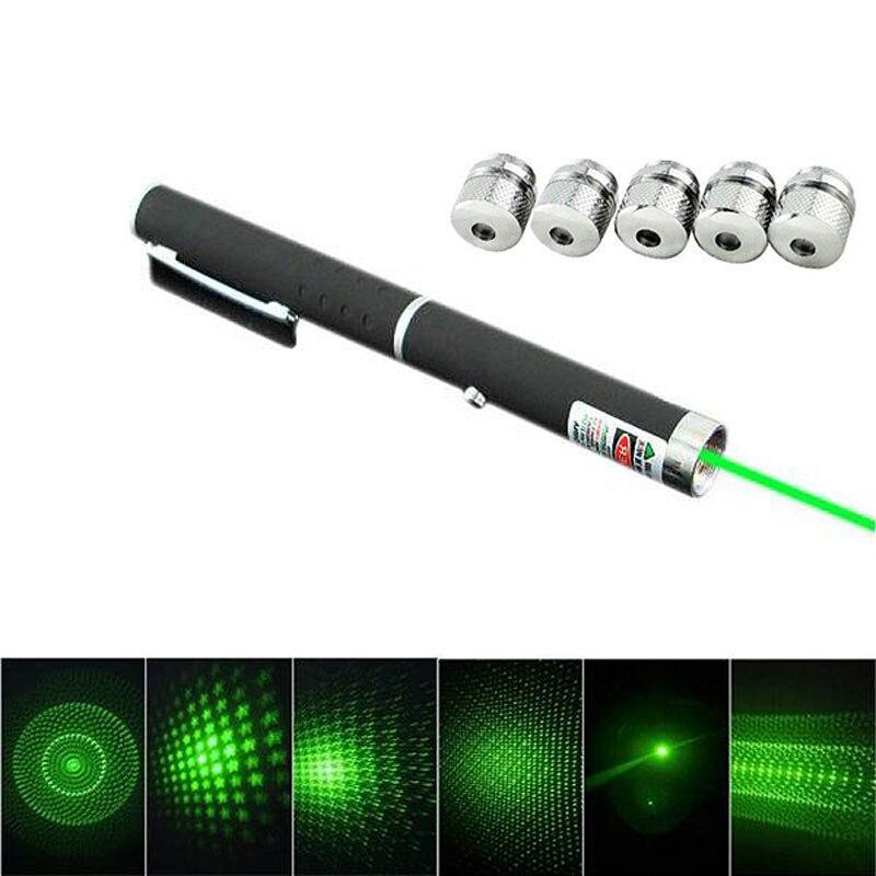 1 шт. Высокое качество 6 в 1 мощный зеленый лазерная указка Pen луч света Lazer 532nm луч Луч лазерная указка инструктор ручка