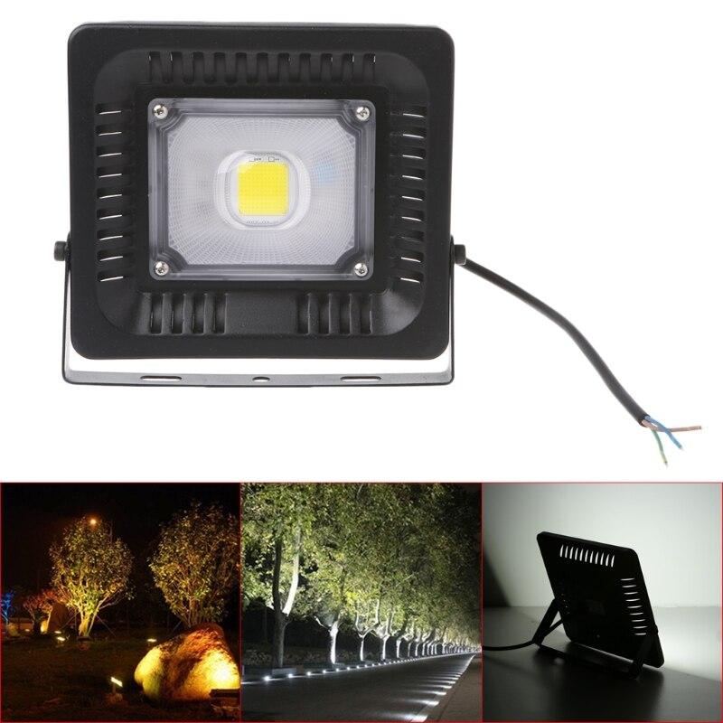 YAM IP67 Waterproof Aluminium 30W LED Flood Light Daylight COB Security Light Outdoor Spotlight