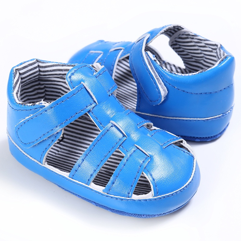 Baby Boys Sandals Summer Casual Fashion PU Hollow out Anti-slip Shoes
