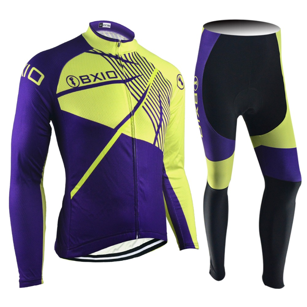 ФОТО 2017 New Arrival BXIO  Ropa Ciclismo Hombre Cycling Jersey Long Sleeve Bicycling Jerseys Pro Team Bike Clothes 114