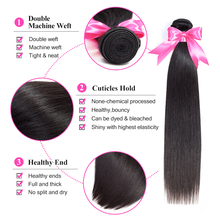 Malaysian Straight Hair Human Hair Extension