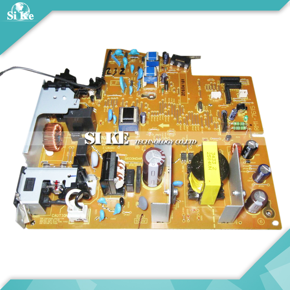 ФОТО LaserJet  Engine Control Power Board For HP P1566 P1606 P1606N RM1-7615 RM1-7616 1566 1606 HP1566 Voltage Power Supply Board