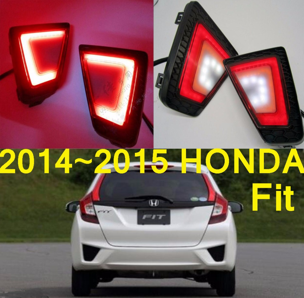 Fit breaking light,2014~2016,Free ship!LED,Fit rear light,LED,2pcs/set,Fit taillight;vezel,Fit Jazz  fit 57817