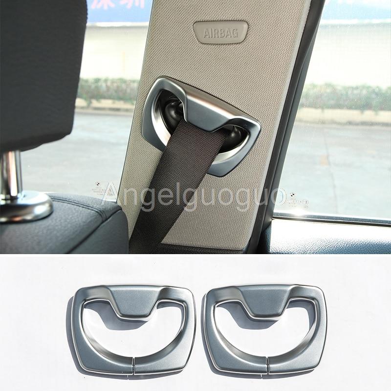 Car B Pillar Seat Belt Decoration Cover Trim Cap For Bmw 3