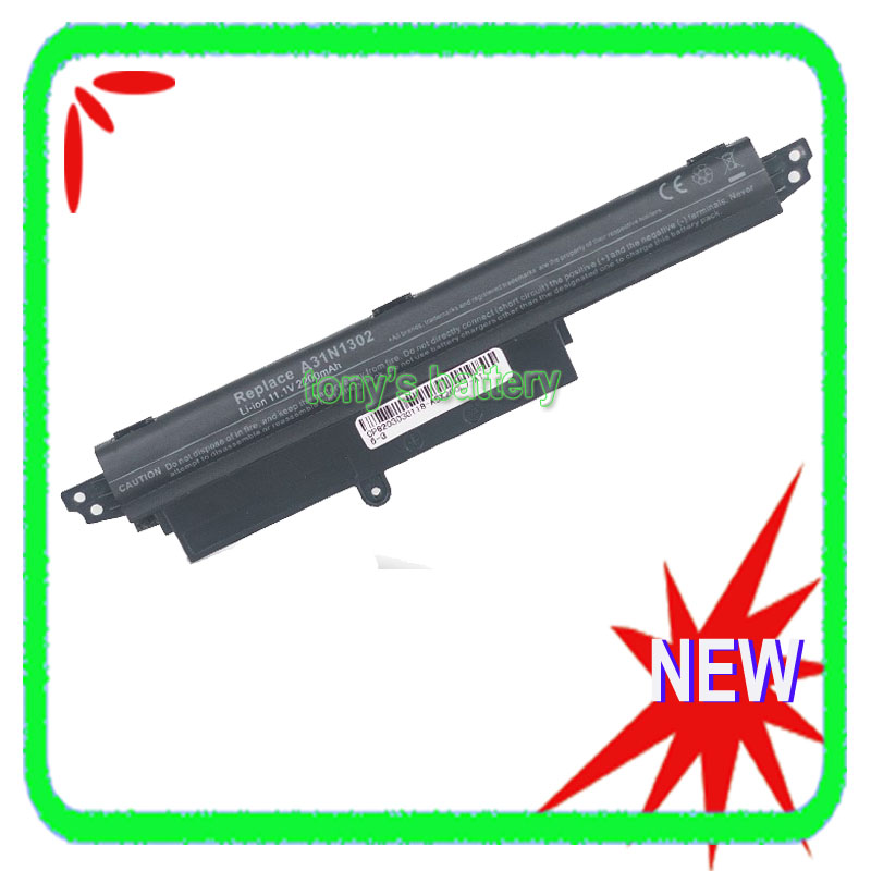 A31N1302 Laptop Battery For Asus VivoBook X200CA X200MA X200M F200CA F200MA F200m R202ca A31LMH2 A31LM9H 1566-6868 все цены