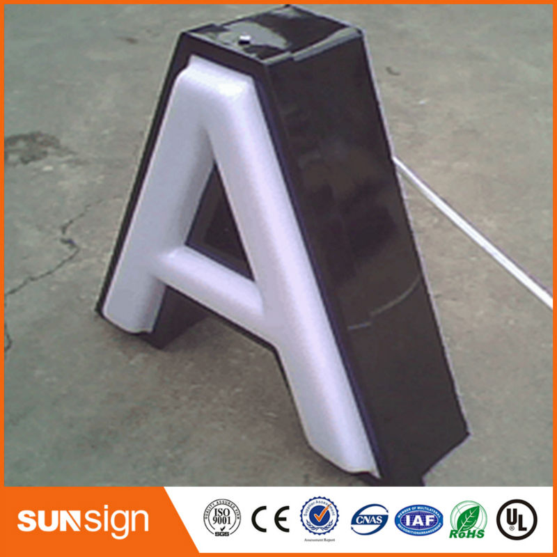 Outdoor Advertising Acrylic Blister Led Signs Light