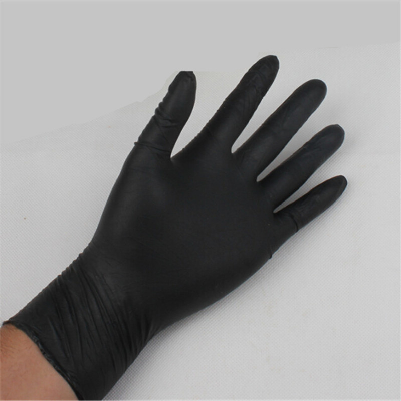 10/20Pcs Black Gloves Disposable Car Care Detailing Gloves Car Wash Accessories Multifunction Nitrile Gloves