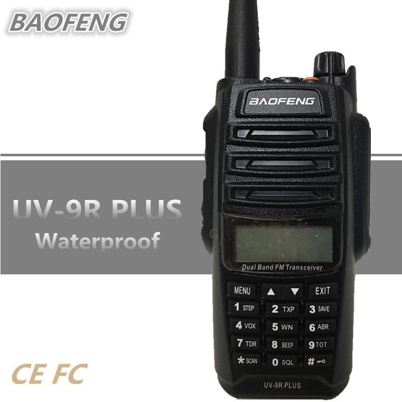 BAOFENG UV-9R PLUS 15W Walkie Talkie Waterproof 10W UHF VHF Handheld Ham CB Radio 8000mAh Radio Comunicador UV 9R HF Transceiver