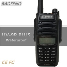 BAOFENG UV-9R плюс 15 Вт влагонепроницаемые Walkie Talkie 10 Вт Портативный любительский радиопередатчик 8000 мАч UHF VHF радио Comunicador UV 9R КВ трансивер