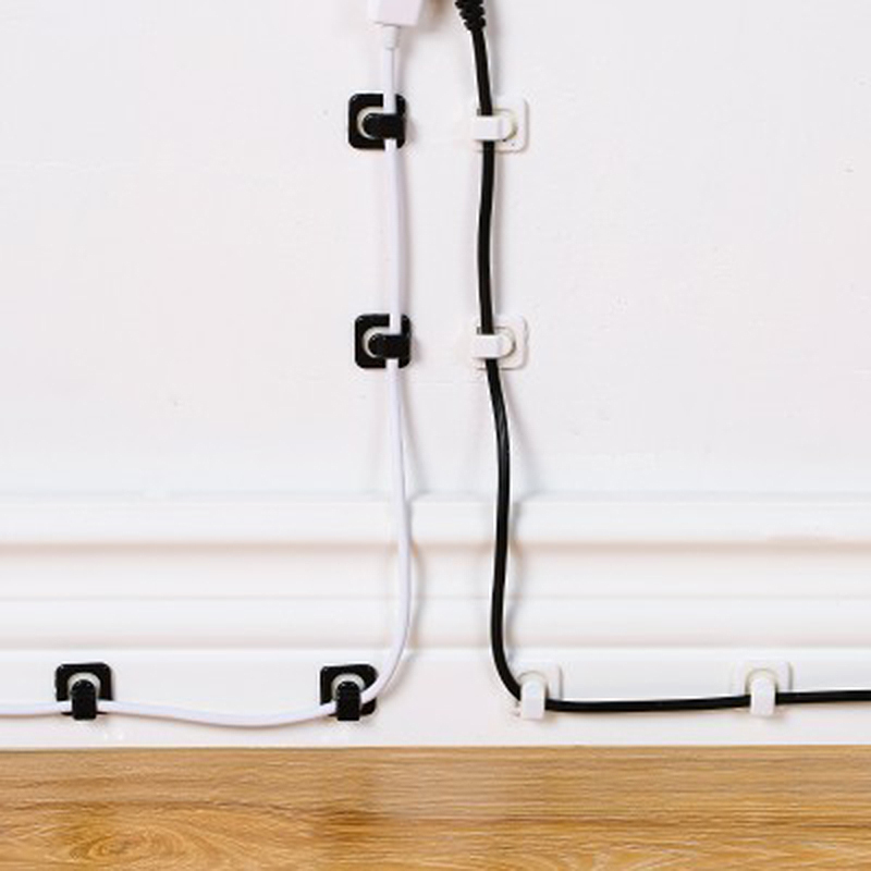 Cable Cords Fixer - Desk Organizer w/ Adhesive Clamp 4