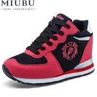 MIUBU High Heel Women Valentine Shoe Platform Basket Femme Tenis Feminino Casual Krasovki For Adult Female