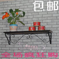 Iron wall shelf bookcase shelf creative word separator simple modern decorative wall shelf display