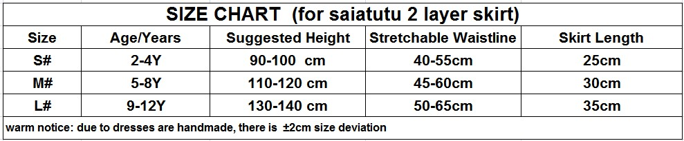size chart (2 layer)