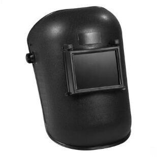 Nero Casco di Saldatura di Protezione Saldatore Maschera di Sicurezza ManualmenteNero Casco di Saldatura di Protezione Saldatore Maschera di Sicurezza Manualmente
