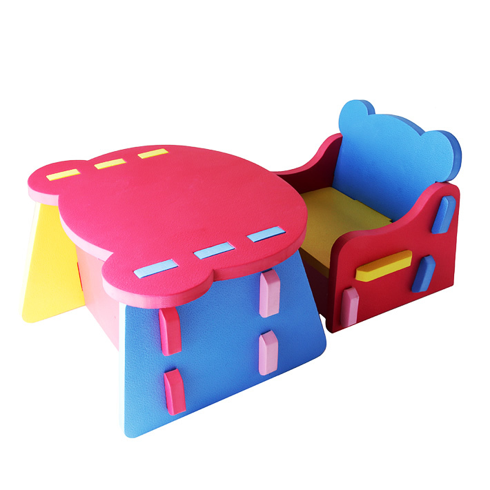 Middlebury Baby Eva Plastic Small Tables And Chairs Child Patchwork Set Eco Friendly Free Shipping In Children Furniture Sets From